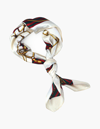 Stirrup and Rope Print Scarf