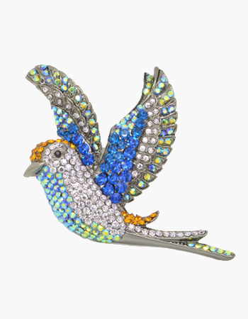 Bird in Flight Brooch